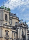 Cattedrale domenicana a Lviv Fotografia Stock Libera da Diritti