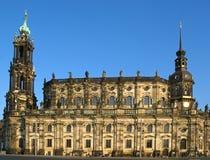 Cattedrale a Dresda, Germania Immagini Stock Libere da Diritti