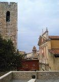 Cattedrale e belltower Fotografie Stock Libere da Diritti