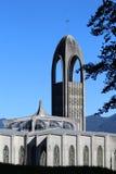 Cattedrale e campanile - Westminster Abbey Mission BC fotografie stock libere da diritti