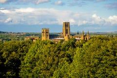 Cattedrale e castello di Durham Fotografia Stock