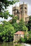 Cattedrale e diga di Durham Fotografie Stock Libere da Diritti