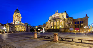 Cattedrale e Konzerthaus tedeschi, Berlino, Germania Immagini Stock Libere da Diritti
