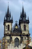 Cattedrale e Pasqua Immagini Stock Libere da Diritti