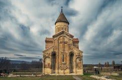 Cattedrale georgiana Samtavisi fotografie stock