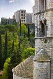 Cattedrale a Girona Immagini Stock