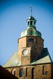 Cattedrale in Gorzow Wielkopolski immagini stock