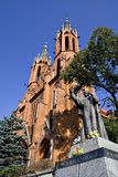 Cattedrale gotica Fotografie Stock