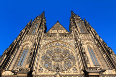 Cattedrale gotica della st Vitus a Praga Immagine Stock Libera da Diritti