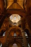 Cattedrale gotica di Barcellona Fotografia Stock Libera da Diritti