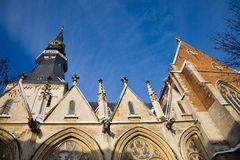 Cattedrale, Hasselt fotografia stock