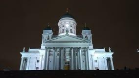 Cattedrale Helsinki immagine stock