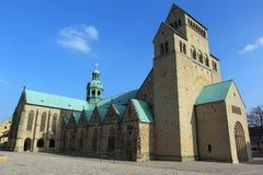 Cattedrale a Hildesheim Fotografie Stock