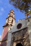 Cattedrale II di Teotihuacan Immagini Stock Libere da Diritti