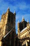 Cattedrale Inghilterra di Lincoln Immagini Stock
