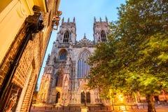 Cattedrale Inghilterra di York Fotografie Stock