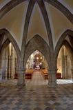 Cattedrale interna Fotografia Stock