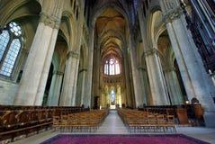 Cattedrale interna Fotografia Stock Libera da Diritti