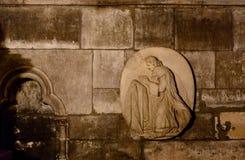 Cattedrale interna di Notre-Dame di vista, una cattedrale cattolica storica considerata come uno degli esempi più fini di gotico  Fotografia Stock Libera da Diritti