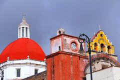 Cattedrale IV di Cuernavaca Immagine Stock