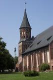 Cattedrale a Kaliningrad Fotografie Stock Libere da Diritti