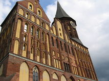 Cattedrale a Kaliningrad Immagini Stock