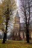 Cattedrale a Kaliningrad Fotografie Stock