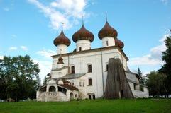 Cattedrale in Kargopol, Russia di natale Immagini Stock Libere da Diritti