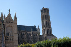 Cattedrale a Limoges Fotografie Stock