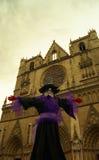 Cattedrale a Lione Francia Immagine Stock