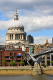 Cattedrale Londra della st Paul Fotografia Stock
