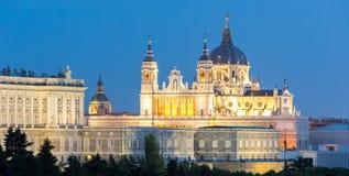 Cattedrale Madrid di Almudena Fotografia Stock Libera da Diritti