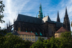 Cattedrale metropolitana dei san Vitus Fotografie Stock