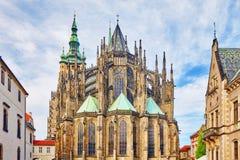 Cattedrale metropolitana dei san Vitus, Wenceslaus Fotografia Stock