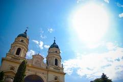 Cattedrale metropolitana ortodossa Iasi Immagini Stock