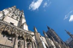 Cattedrale molto in alto Fotografia Stock