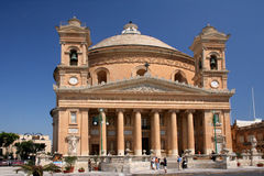 Cattedrale in Mosta Immagine Stock Libera da Diritti