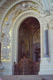 Cattedrale navale di San Nicola in Kronštadt Immagini Stock