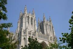 Cattedrale nazionale, DC di Washington Fotografie Stock Libere da Diritti