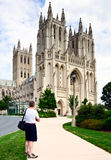 Cattedrale nazionale di Washington, Washington DC, S.U.A. fotografie stock