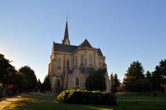 Cattedrale nella città di Bariloche, Argentina Immagini Stock