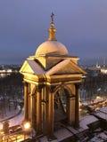 Cattedrale nella penombra fotografia stock