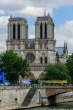 Cattedrale Notre Dame de Paris Fotografia Stock Libera da Diritti