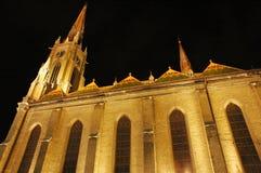 Cattedrale in Novi triste fotografia stock libera da diritti