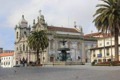 Cattedrale a Oporto Immagini Stock