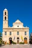 Cattedrale ortodossa in Chania Crete, Grecia Immagini Stock