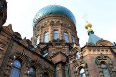 Cattedrale ortodossa della st Sophia Fotografia Stock Libera da Diritti