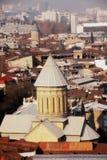 Cattedrale ortodossa georgiana fotografia stock libera da diritti
