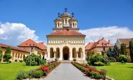 Cattedrale ortodossa in Iulia alba Immagine Stock Libera da Diritti