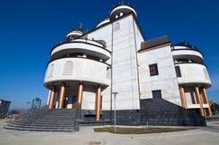 Cattedrale ortodossa in Mioveni, Romania fotografia stock libera da diritti